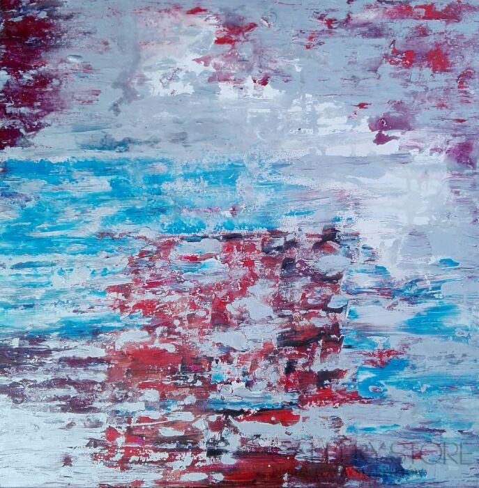 Mariola Świgulska-Melancholia kolorów-Akryl