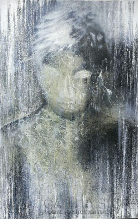 Mariola Świgulska-Zapatrzony w księżyć-Akryl