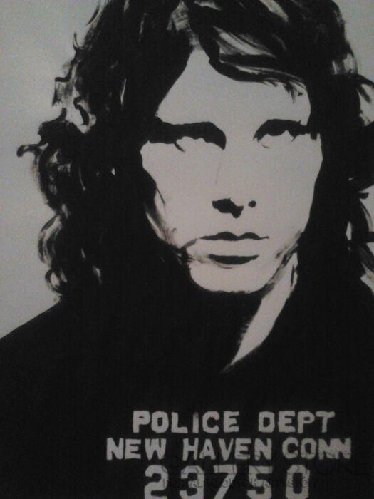 Mariusz Harmasz-Jim Morrison_The End-Technika mieszana