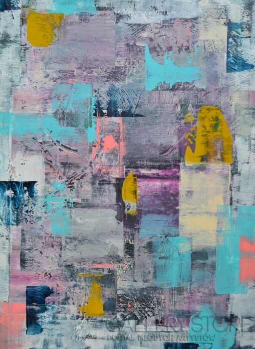 Martyna Wójcik-The Patchwork-Akryl