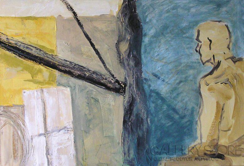 Natalia Rozmus-Akt i przestrzeń-Olej