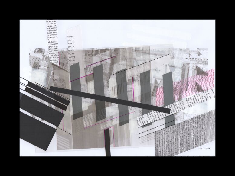 Natalia Rozmus-deconstructing hometown _seria-Rysunek
