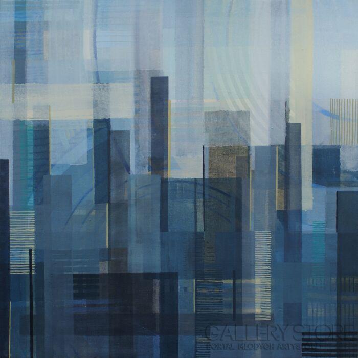 Natalia Rozmus-Graphite / seria The Big City-Akryl