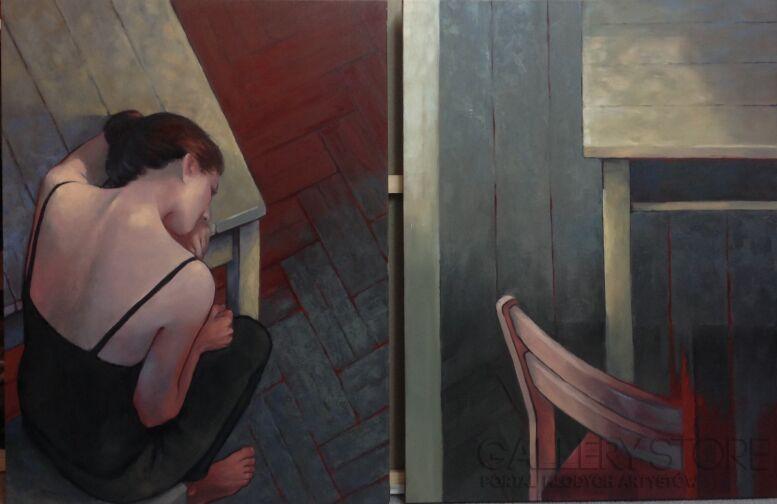 Olga Prokop-Miśniakiewicz-z cyklu Punkt widzenia-Olej