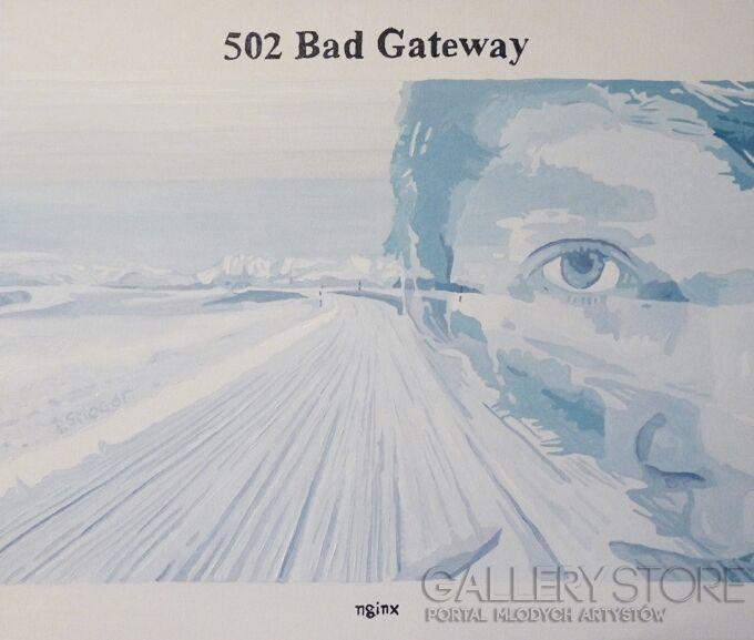 Piotr Smogór-bad_gateway-Olej