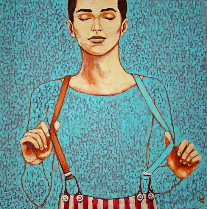 Renata Magda-iluzjonista-Olej