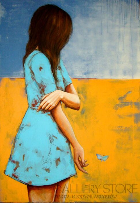 Renata Magda- little freedom...-Akryl