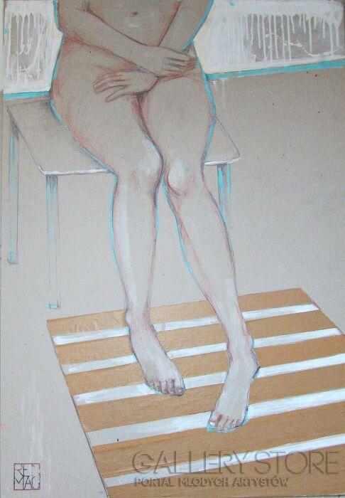 Renata Magda-spoczywając ...-Rysunek