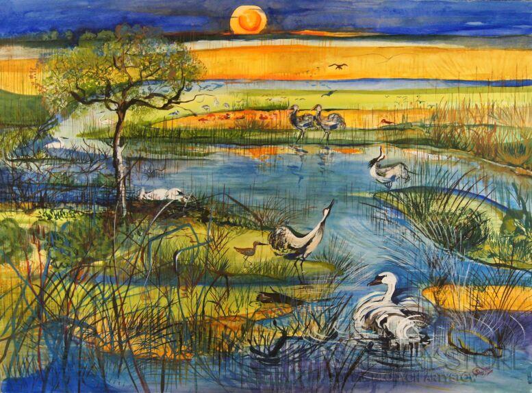 Sylwia Mirowska-BIEBRZA-Malarstwo