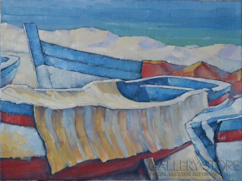 Wiaszesław Rogin-Sycylijskie łodzie-Olej