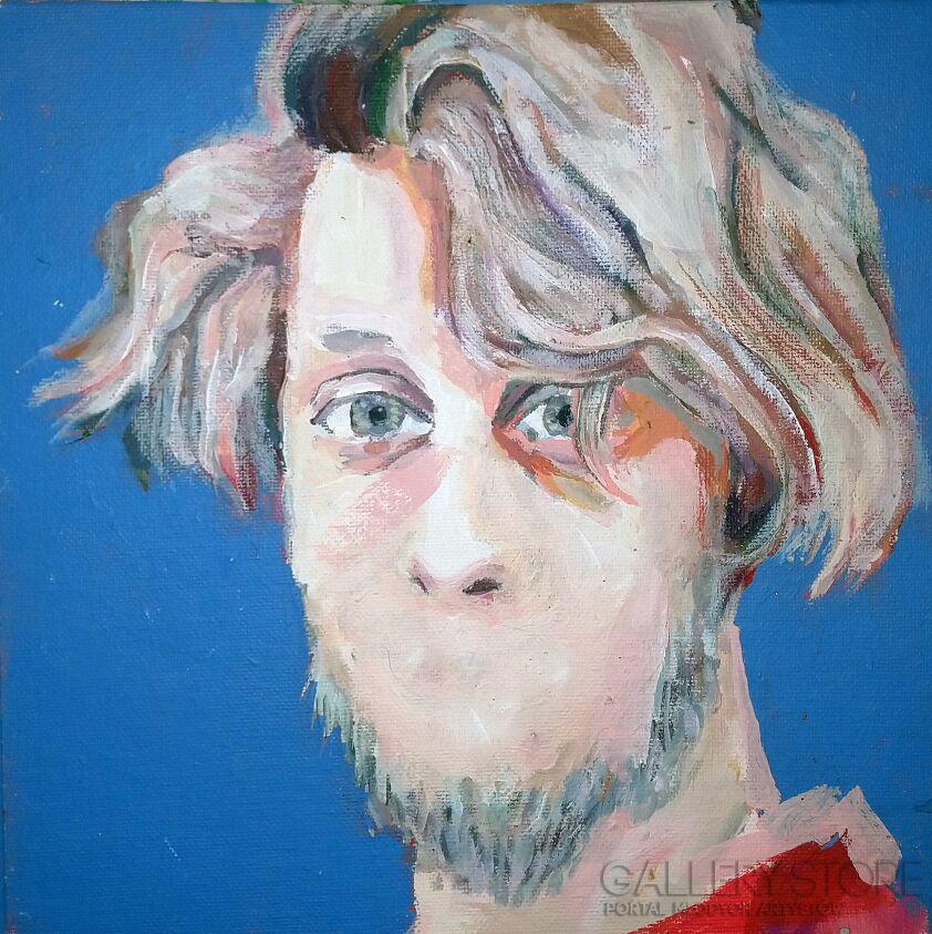 Bartłomiej Górecki-Portret pojedynczy-Akryl