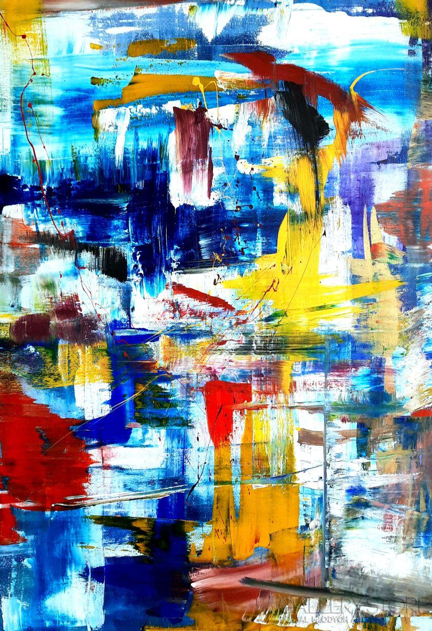 Przemysław Michalczuk-abstrakcja 11-Akryl