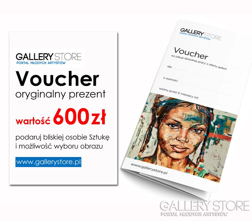 Voucher Gallerystore-Voucher Gallerystore - wartość 600 zł-Olej