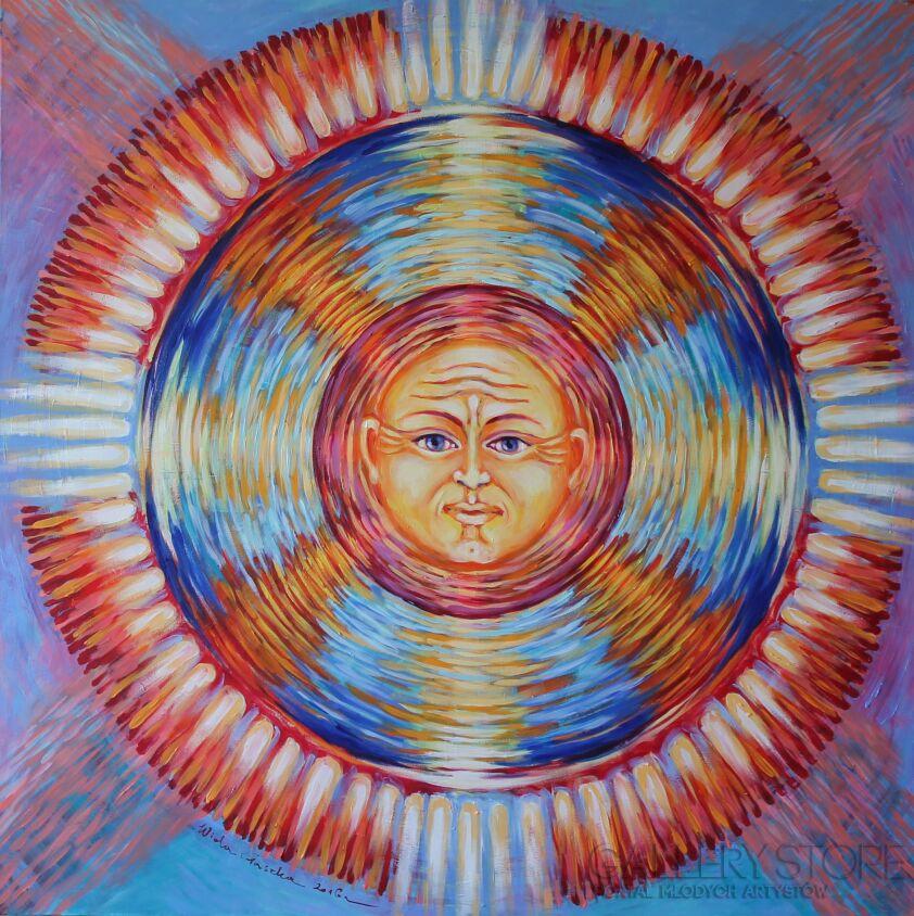 Wiola Gaszka-Emanacja światła VII-Olej